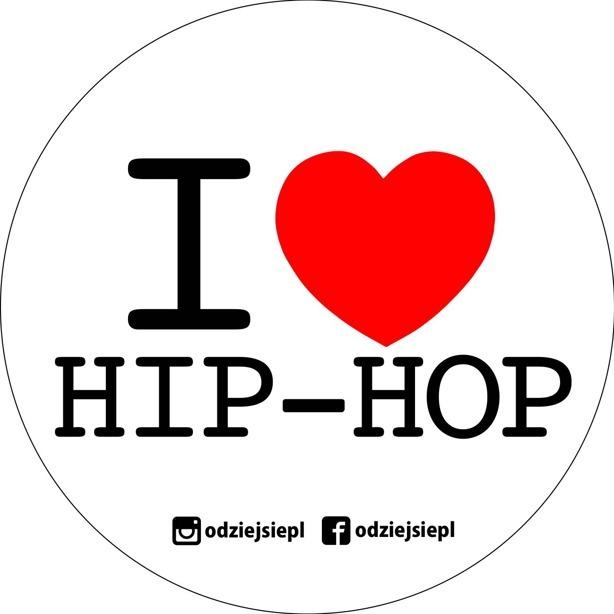Odziejsie Wlepka Hip-Hop White