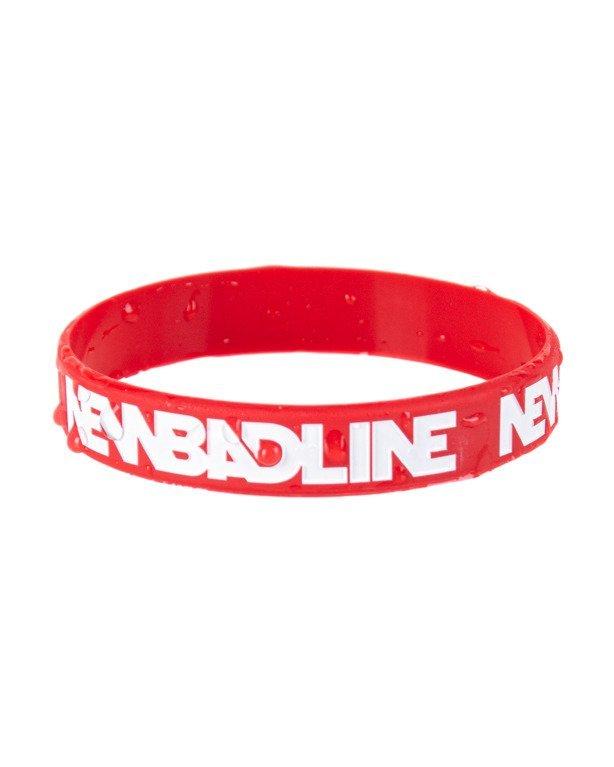 Opaska Silikonowa New Bad Line Classic Red