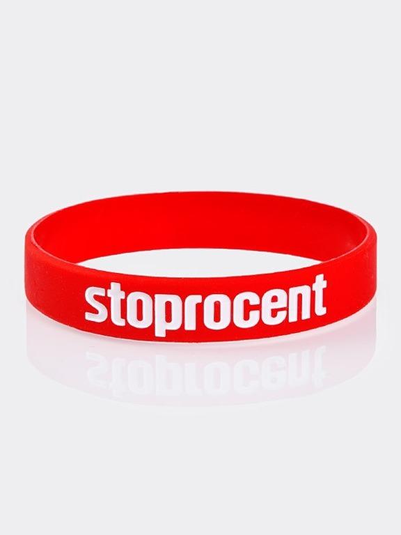 Opaska Stoprocent Brand Red