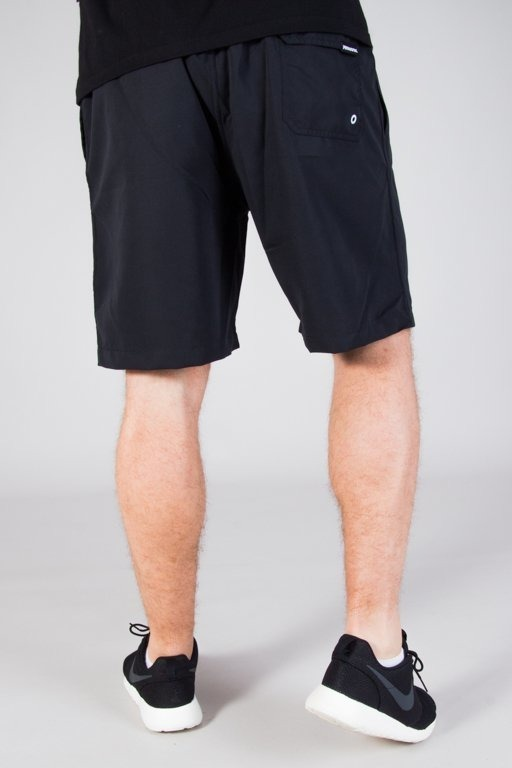 PATRIOTIC SHORTS CLS BLACK