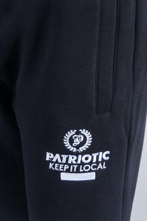 PATRIOTIC SWEATPANTS P LAUR BLACK