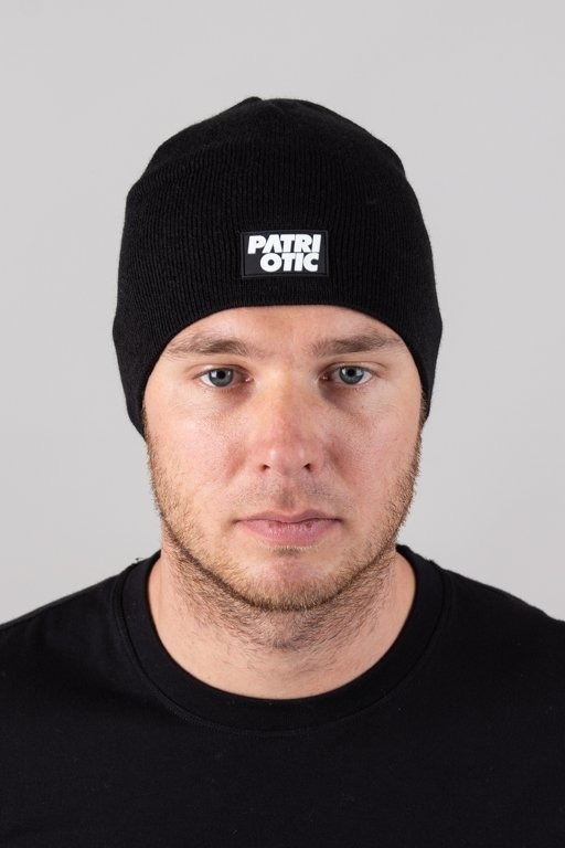 PATRIOTIC WINTER CAP CLS GUMKA BLACK