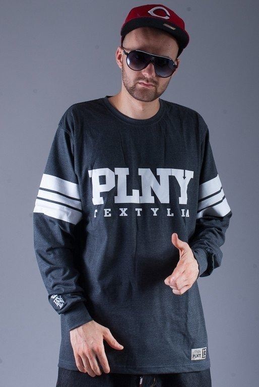 PLNY LONGSLEEVE KLASYK GREY