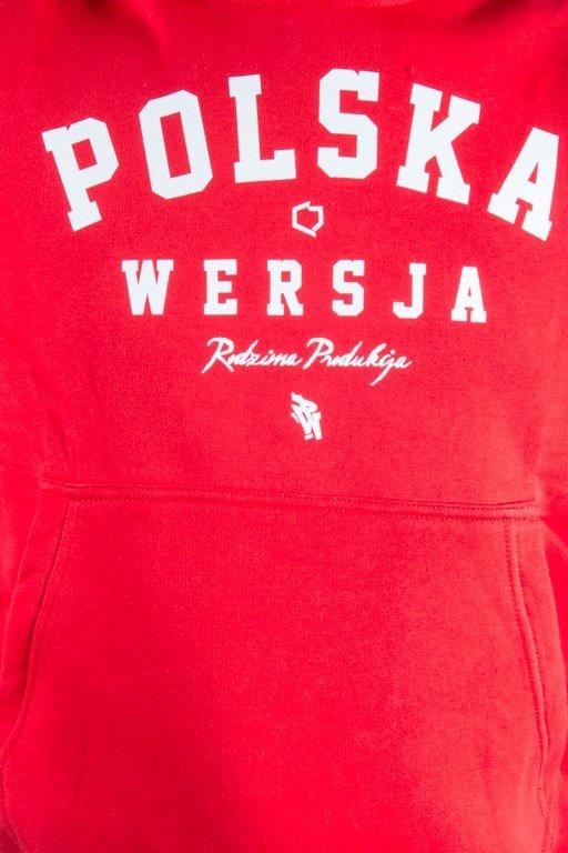 POLSKA WERSJA HOODIE POLSKA WERSJA RED