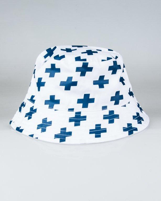 PROSTO BUCKET HAT ADVENTURE WHITE