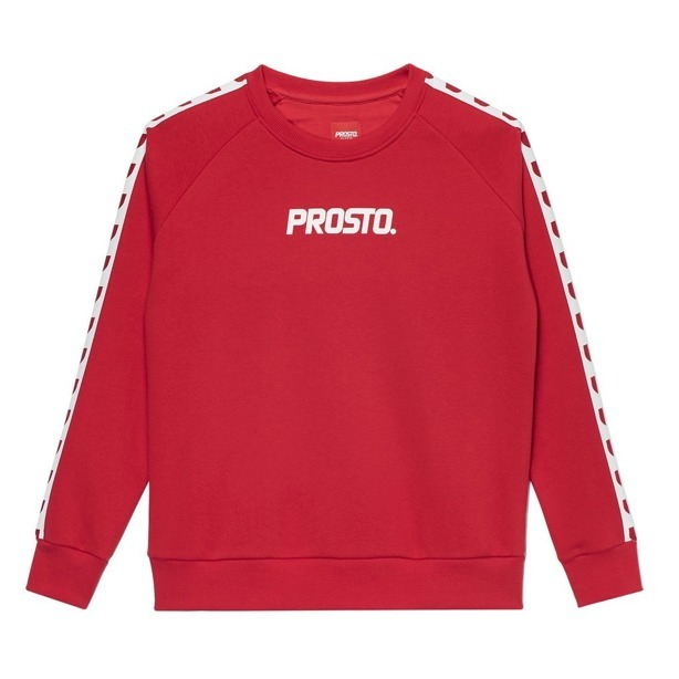 PROSTO CREWNECK WOMAN ARMIE RED