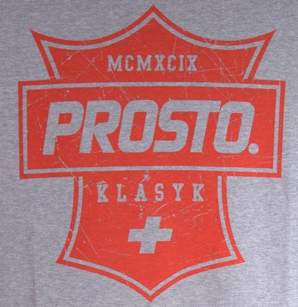 PROSTO KOSZULKA LONGSLEEVE SCOUT GREY