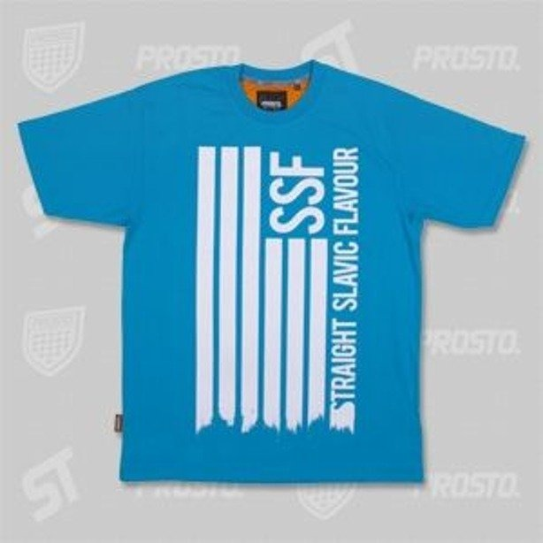 PROSTO KOSZULKA SSF FLAGGG! BLUE