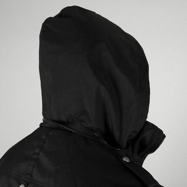 PROSTO KURTKA WIOSENNA ZIP SERGEANT BLACK
