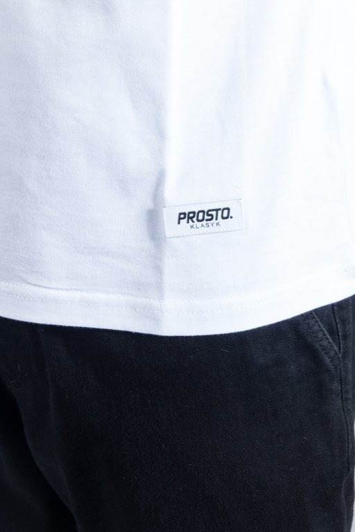 PROSTO LONGSLEEVE SHIELD WHITE