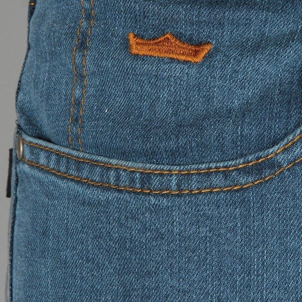 PROSTO SPODNIE JEANS STRAIGHT 1 LIGHT BLUE