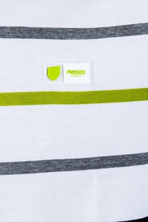 PROSTO T-SHIRT RIDGY WHITE