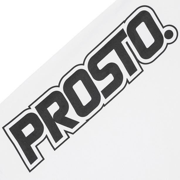 PROSTO T-SHIRT WOMAN BUNGEE WHITE