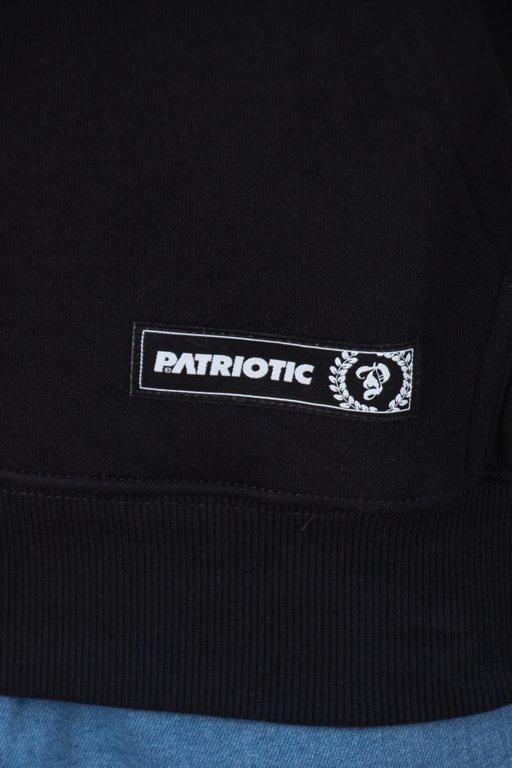 Patriotic Bluza Z Kapturem Sticker Black