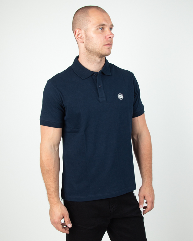 Koszulka Pitbull Polo Circle Logo Navy