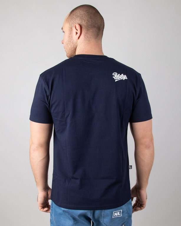 Polska Wersja Koszulka T-shirt Pw Do Kwadratu Navy