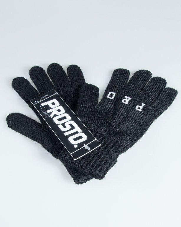 Rękawiczki Prosto Fingers Black