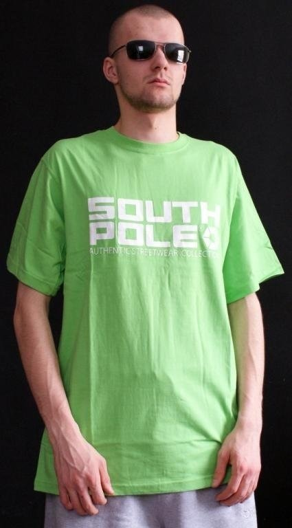 SOUTHPOLE KOSZULKA SOUTH POLE GREEN