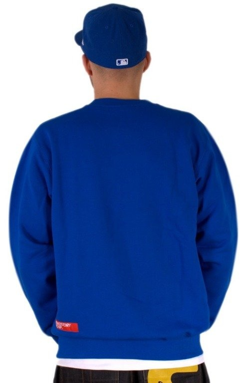 SSG BLUZA BEZ KAPTURA S BLUE