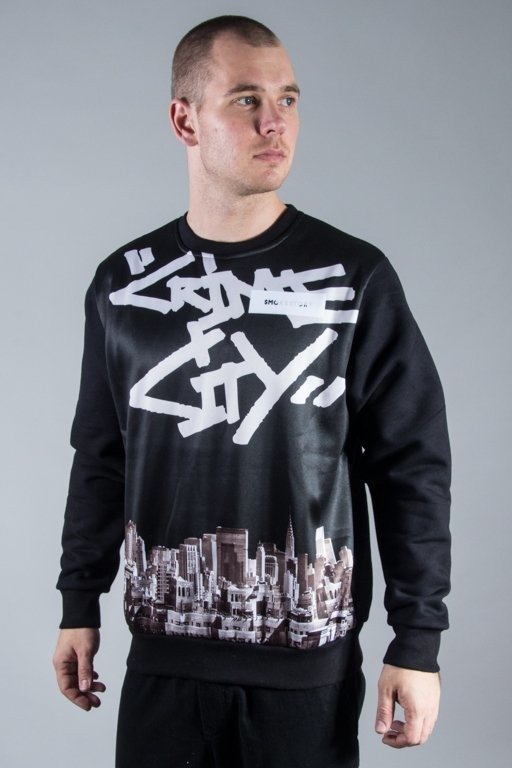 SSG CREWNECK CRIME CITY BLACK