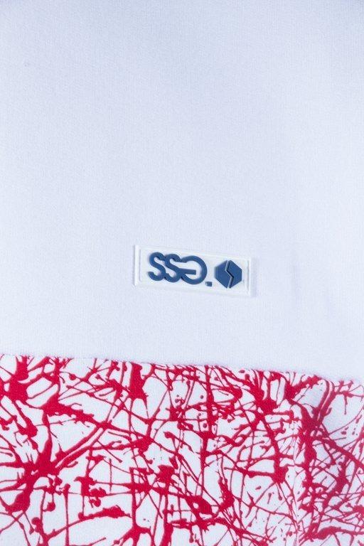 SSG CREWNECK TRIPLE COLOR WHITE-RED