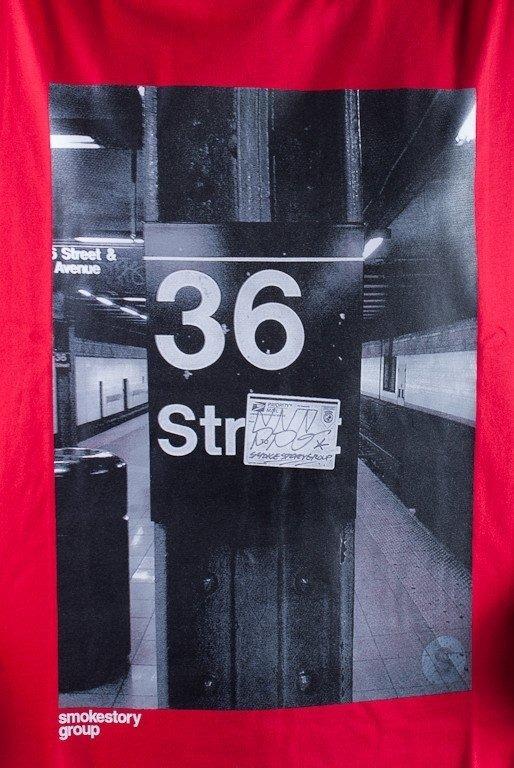 SSG KOSZULKA 36 STREET RED
