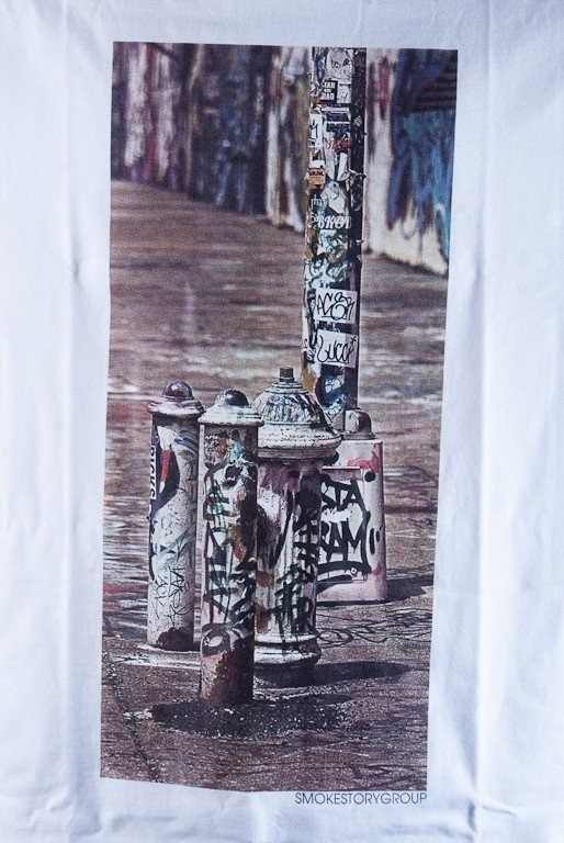SSG KOSZULKA GRAFFITI WHITE