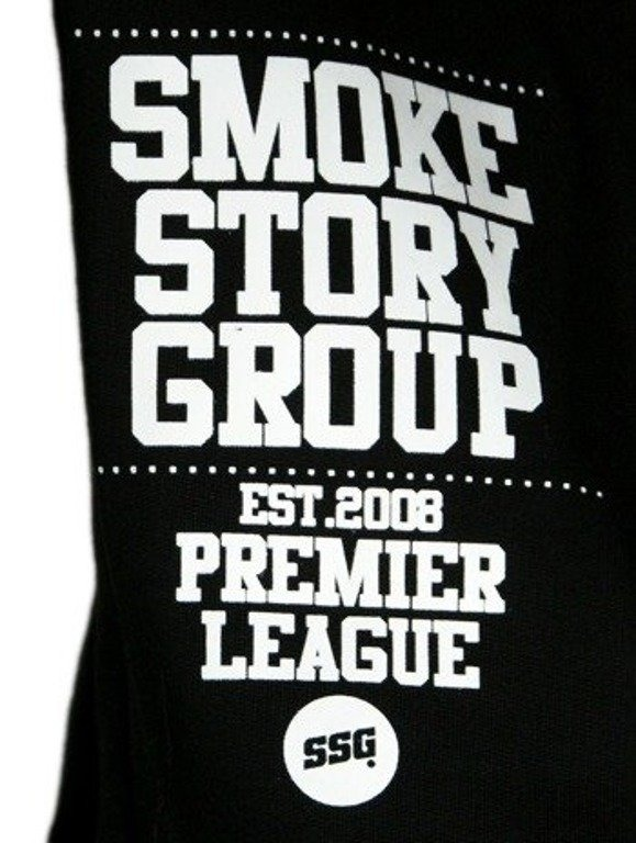 SSG SMOKE STORY BLUZA ARMY BLACK-WHITE