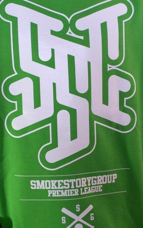 SSG SMOKE STORY BLUZA PREMIER LEAGUE GREEN