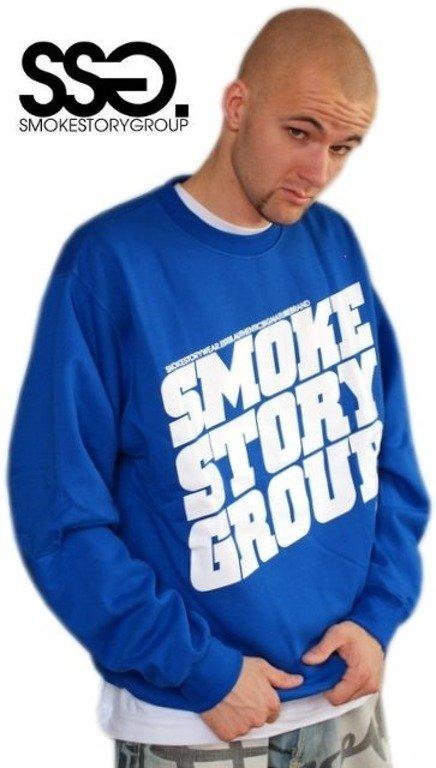 SSG SMOKE STORY BLUZA SM GROUP BLUE