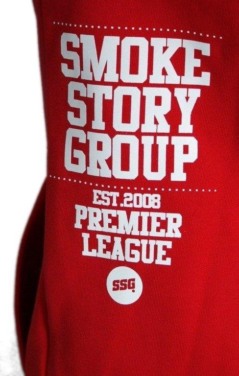 SSG SMOKE STORY GROUP BLUZA ARMY RED