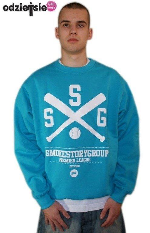 SSG SMOKE STORY GROUP BLUZA BASEBALL BLUE