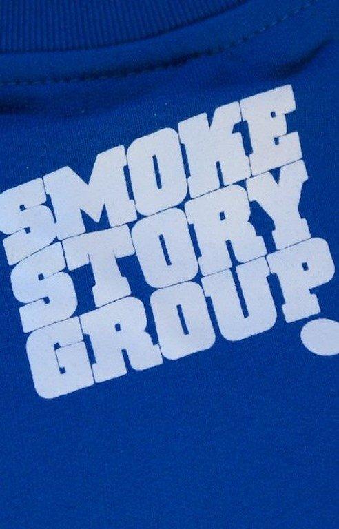SSG SMOKE STORY GROUP BLUZA BIG BLUE