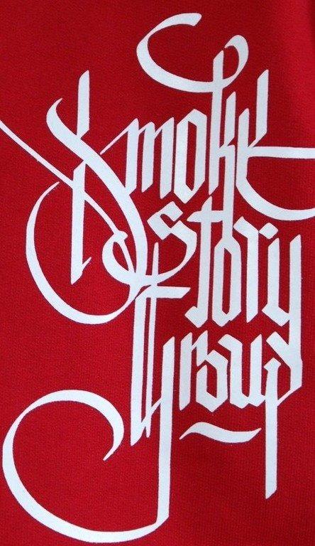 SSG SMOKE STORY GROUP BLUZA GOTHIC RED