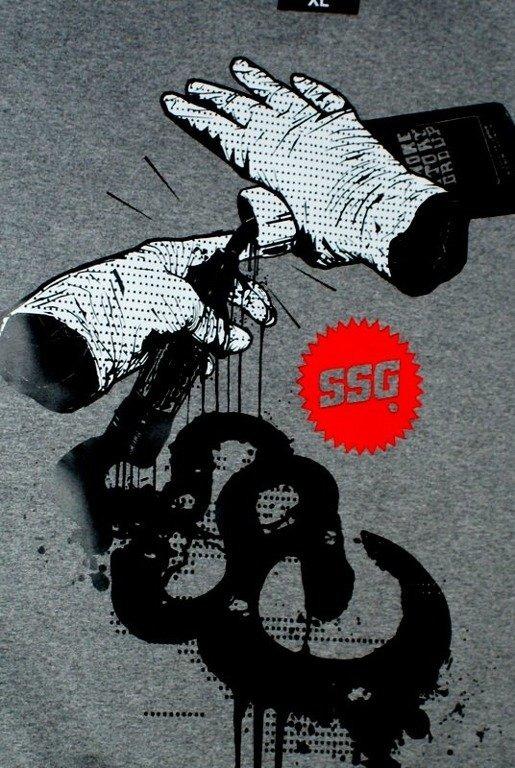SSG SMOKE STORY GROUP BLUZA GROG GREY