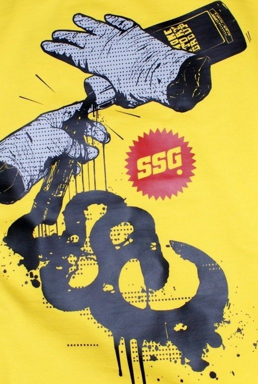 SSG SMOKE STORY GROUP BLUZA GROG YELLOW