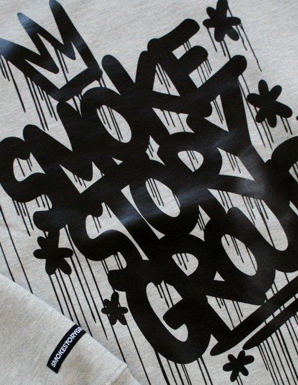 SSG SMOKE STORY GROUP BLUZA KORONA GREY