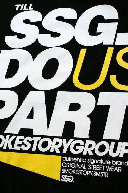 SSG SMOKE STORY GROUP KOSZULKA PART BLACK