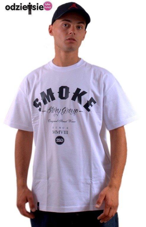 SSG SMOKE STORY GROUP KOSZULKA SMOKE WHITE