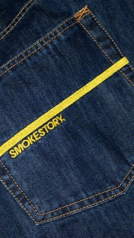 SSG SMOKE STORY SPODNIE DB HAFT PASEK