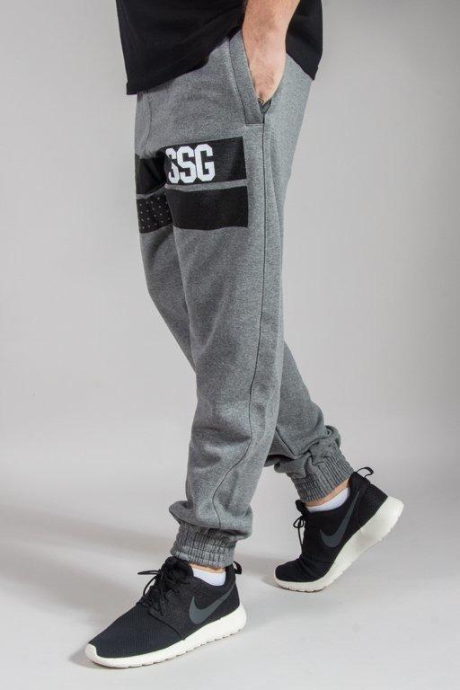 SSG SWEATPANTS JOGGER LINES GREY