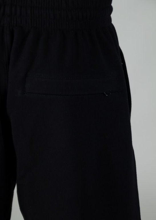 SSG SWEATSHORTS LIGHT BIG DOT BLACK