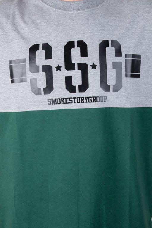 SSG T-SHIRT CLASSIC POCKET GREY-GREEN