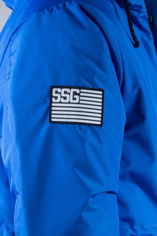 SSG WINTER JACKET STREET PARKA BLUE