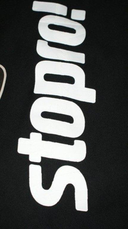 STOPROCENT BLUZA STOPRO! BLACK-WHITE