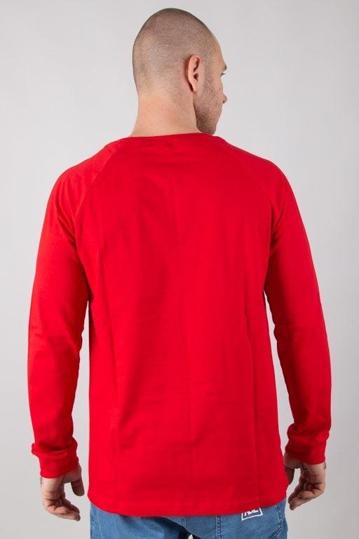 STOPROCENT LONGSLEEVE VERTICAL RED