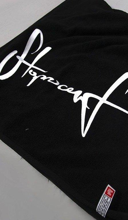 STOPROCENT RĘCZNIK 70x140 BLACK-WHITE