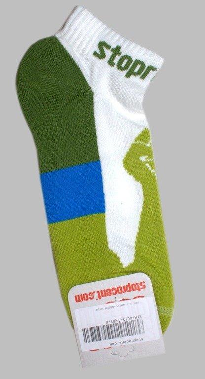 STOPROCENT SKARPETKI GFY WHITE-GREEN