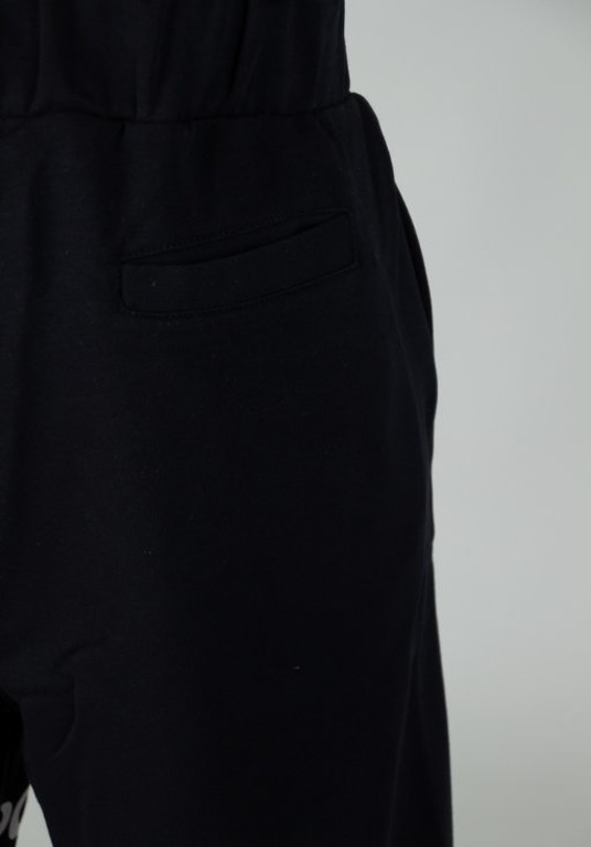 STOPROCENT SWEATSHORTS CS TAG BLACK