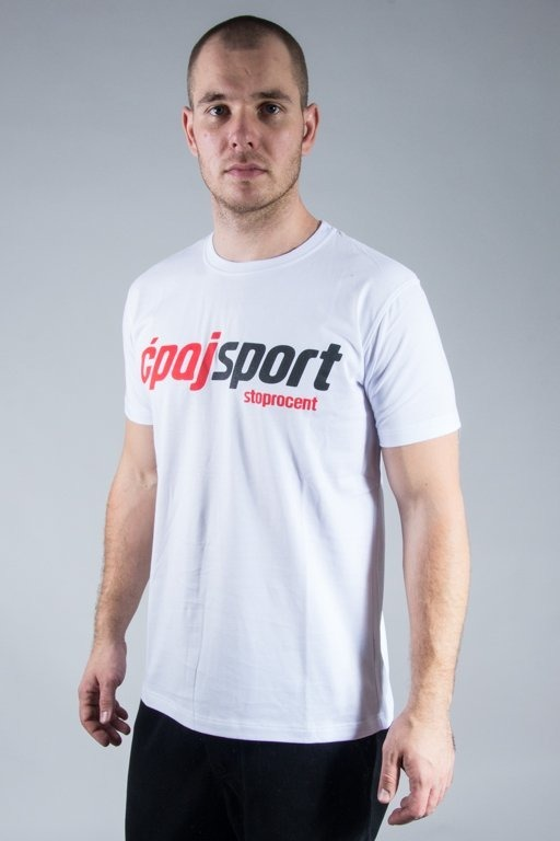 STOPROCENT T-SHIRT CS SIMPLE WHITE